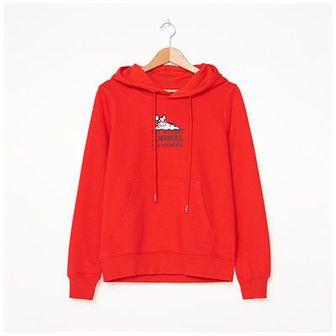 House - Bluza z haftem - Czerwony