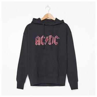 House - Bluza z kapturem AC/DC - Czarny