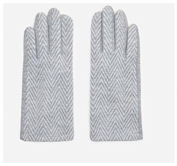 House - Rękawiczki w jodełkę - Wielobarwny