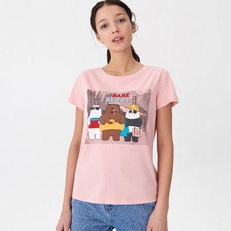 Koszulka z nadrukiem We Bare Bears