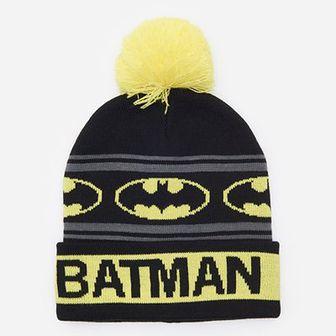 Czapka z pomponem Batman