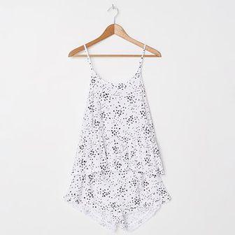 Dwuczęściowa piżama z nadrukiem
