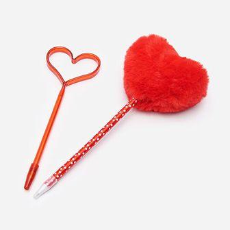 Długopisy z motywem serca