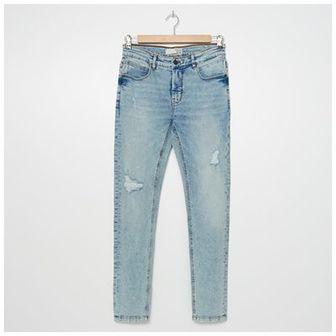 House - Jeansy skinny fit - Niebieski