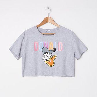 House - Krótka koszulka Donald Duck - Jasny szary