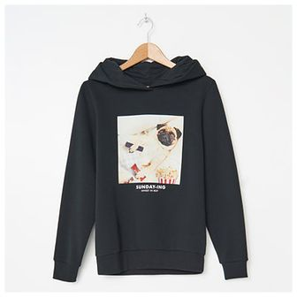 House - Bluza hoodie z nadrukiem - Czarny
