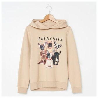 House - Bluza hoodie z nadrukiem - Kremowy