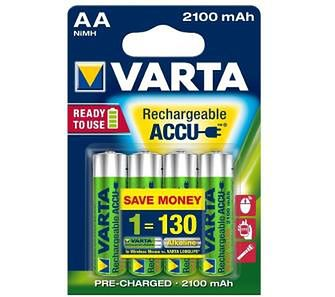 VARTA Rechargeable ACCU AA 2100 mAh (4 szt.)