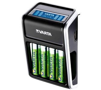 VARTA LCD Plug Charger + 4 akumulatory AA 2100 mAh