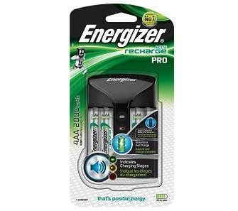 Energizer Pro-Charger + 4 akumulatory AA 2000 mAh