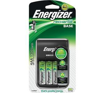 Energizer Base + 4 akumulatory AA 1300 mAh