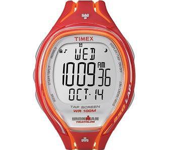 Timex Ironman Sleek 250 T5K788 (pomarańczowy)