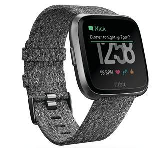 Fitbit Versa (charcoal)