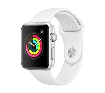 Apple Watch 3 38mm biały (pasek sport)