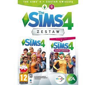 The Sims 4 Zestaw Specjalny (podstawka + dodatek Zostań Gwiazdą) PC