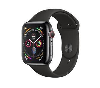Apple Watch Series 4 40 mm GPS + Cellular Sport (czarny)