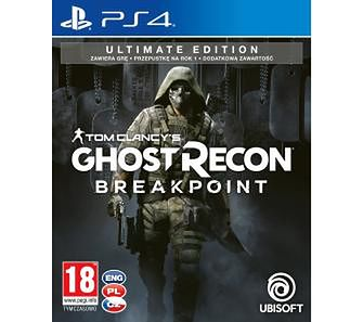 Tom Clancy's Ghost Recon Breakpoint - Edycja Ultimate PS4
