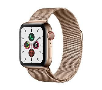 Apple Watch Series 5 40 mm GPS + Cellular (złoty)