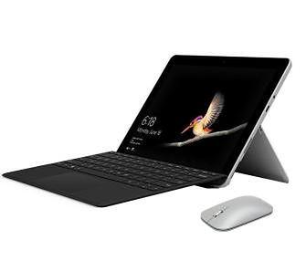 "Microsoft Surface Go 10"" Intel Pentium Gold 4415Y - 4GB RAM - 64GB Dysk - Win10 S + klawiatura + mysz"
