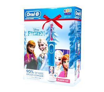 Braun Oral-B Kids D100 Frozen + kubek