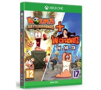 Pakiet Worms (Worms Battlegrounds + Worms W.M.D. ) Xbox One