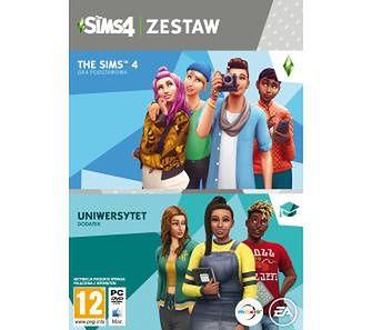 The Sims 4 Zestaw (podstawka + dodatek Uniwersytet) PC