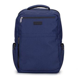 """Męski plecak na laptopa 15,6"""" z boczną kieszenią"""