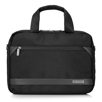 """Męska torba na laptopa 13"""" z krytym suwakiem mała"""