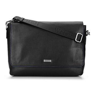 Męska torba na laptopa z miękkiej skóry z klapą