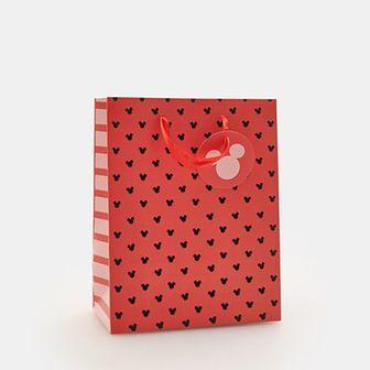 Sinsay - Torba prezentowa Myszka Miki S - Czerwony