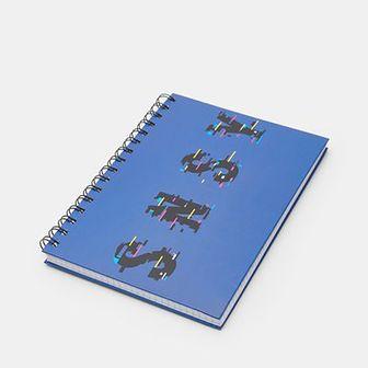 Sinsay - Notes A5 - Niebieski