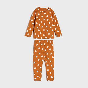 Sinsay - Piżama dwuczęściowa - Żółty