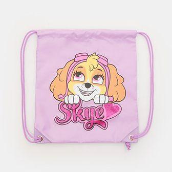 Sinsay - Plecak worek Psi Patrol - Fioletowy