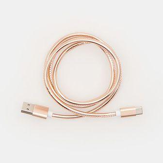 Sinsay - Kabel USB typ C - Pomarańczowy