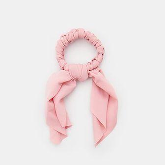 Sinsay - Gumka do włosów - Różowy