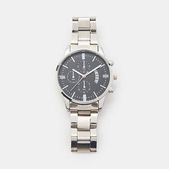 Sinsay - Zegarek z bransoletą - Srebrny