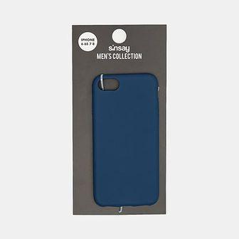 Sinsay - Etui na iPhone 6/6S/7/8 - Granatowy