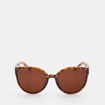 Sinsay - Okulary przeciwsłoneczne - Brązowy