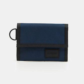 Sinsay - Materiałowy portfel - Granatowy