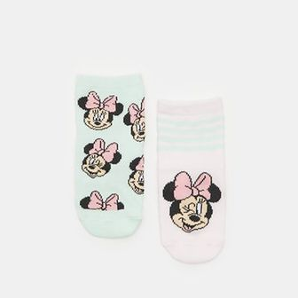 Sinsay - Skarpetki Myszka Minnie 2 pack - Różowy