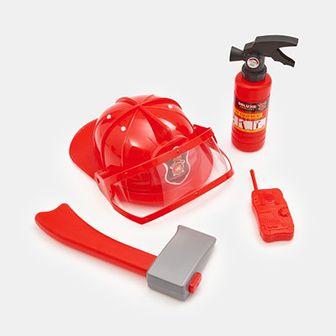 Sinsay - Zestaw strażaka - Czerwony