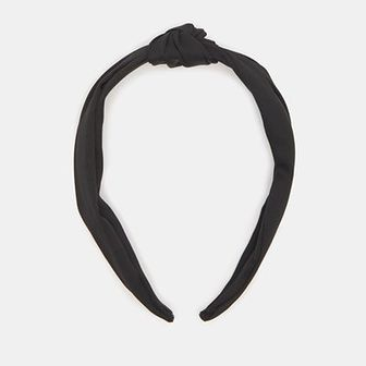 Sinsay - Opaska na włosy - Czarny