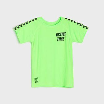 Sinsay - Koszulka sportowa - Zielony