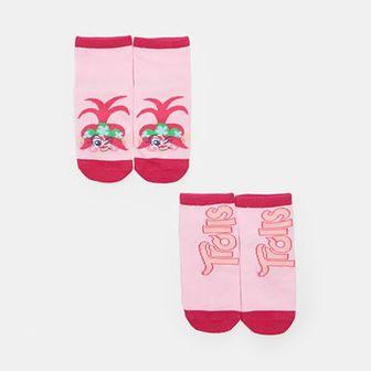 Sinsay - Skarpetki dziewczęce Trolle - Różowy