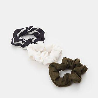 Sinsay - Gumki do włosów 3 pack - Wielobarwny