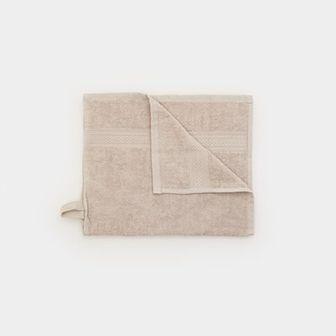 Sinsay - Ręcznik bawełniany - Jasny szary