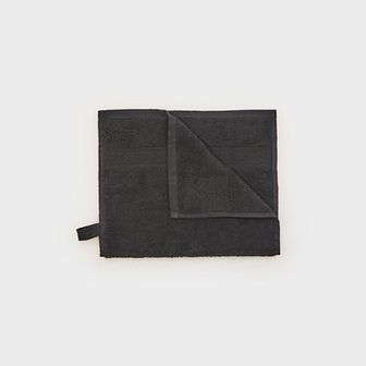Sinsay - Ręcznik bawełniany - Czarny