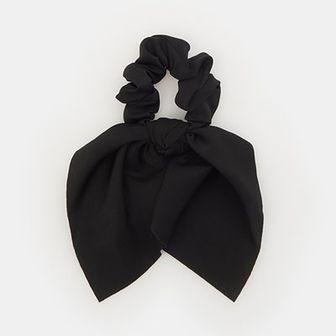 Sinsay - Gumka do włosów - Czarny