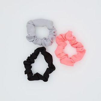 Sinsay - Neonowe Gumki do włosów - Różowy