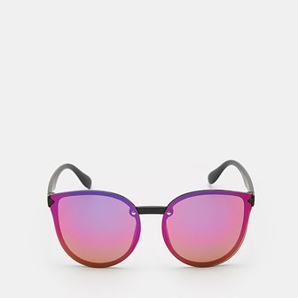 Sinsay - Okulary przeciwsłoneczne z barwionym szkłem - Wielobarwny